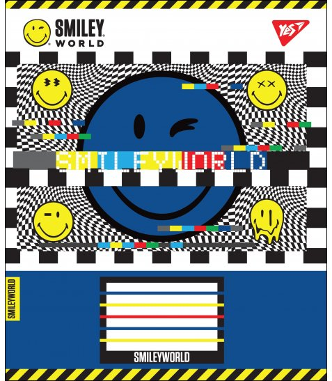 А5/24 лін. YES SMILEY WORLD, зошит учнів.