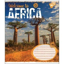 А5/48 кл. YES AFRICA, зошит дя записів