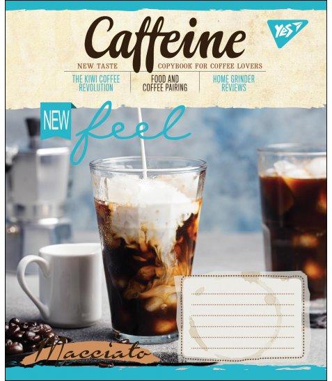 А5/48 лін. YES CAFFEINE, зошит дя записів