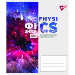 Зошит для записів А5/48 кл. YES ФІЗИКА (Binary Science) виб.гібрід.лак