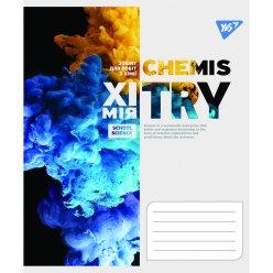 Зошит для записів А5/48 кл. YES ХІМІЯ (Binary Science) виб.гібрід.лак