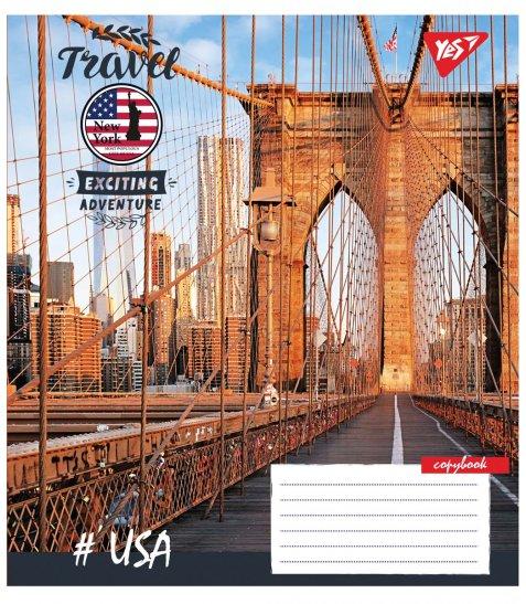 А5/36 кл. YES Travel, зошит дя записів