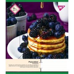 А5/36 лін. YES Pancakes, зошит дя записів