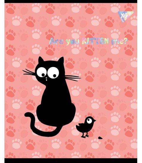 Зошит А5 12 Кл. YES Playful Kitties - фото 3 з 5