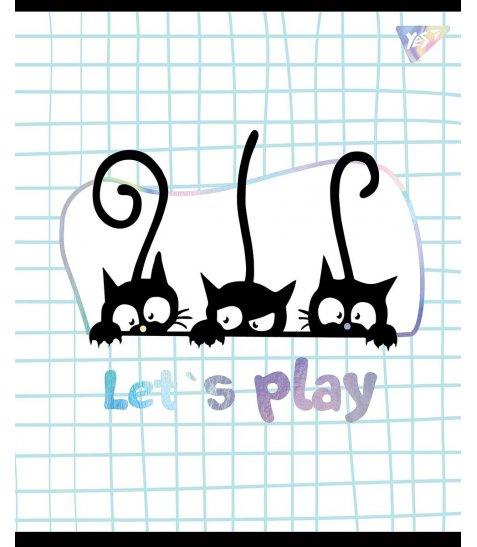 Зошит А5 12 Кл. YES Playful Kitties - фото 1 з 5