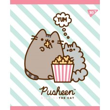 Зошит А5 12 Кос. YES Pusheen Sweet Cat