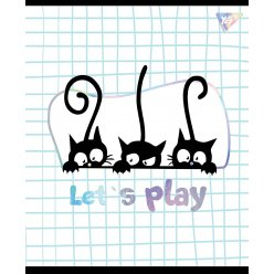 Зошит А5 12 Лін. YES Playful Kitties