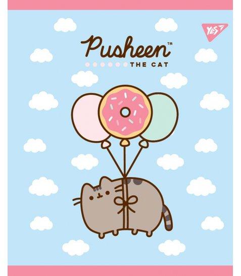 Зошит А5 12 Лін. YES Pusheen Sweet Cat - фото 2 з 5