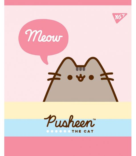 Зошит А5 12 Лін. YES Pusheen Sweet Cat - фото 4 з 5