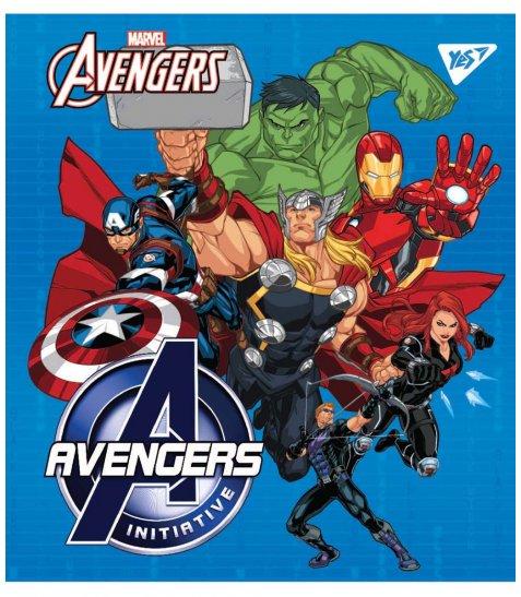 """Зошит для записів А5/18 кл. YES """"Marvel"""" виб.гібрід.лак"""