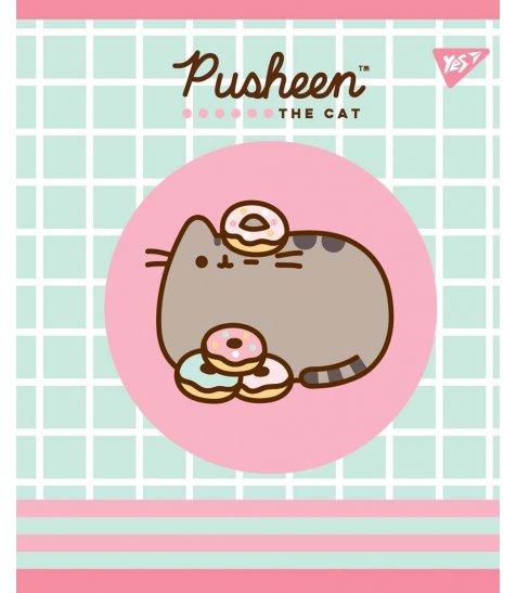Зошит А5 18 Кл. YES Pusheen Sweet Cat - фото 3 з 5