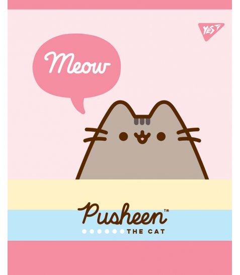 Зошит А5 18 Кл. YES Pusheen Sweet Cat - фото 4 з 5