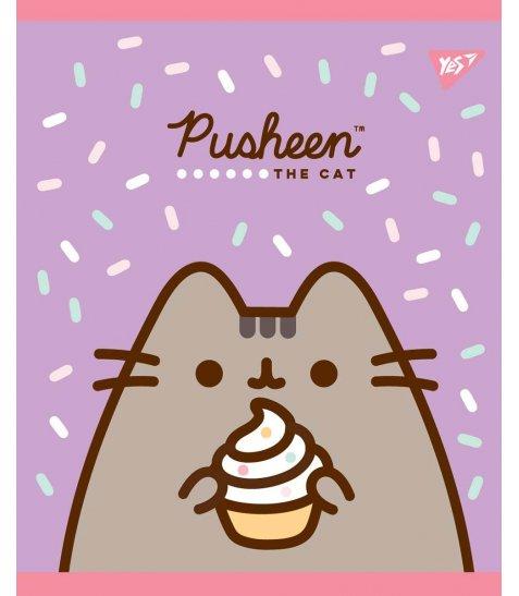 Зошит А5 18 Кл. YES Pusheen Sweet Cat - фото 5 з 5