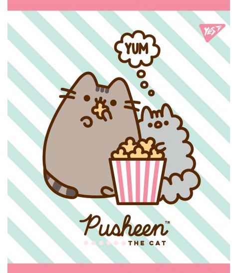 Зошит А5 18 Кл. YES Pusheen Sweet Cat - фото 1 з 5