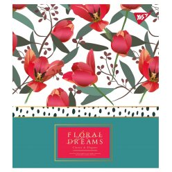 Зошит А5 18 Лін. YES Floral Dreams