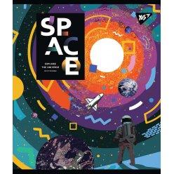 Зошит А5 18 Лін. YES Space Abstract