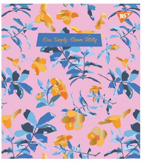 Зошит А5 18 Лін. YES Wild Bloom