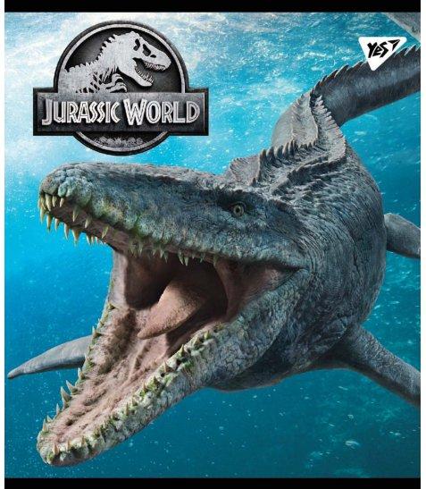 Зошит А5 24 Кл. YES Jurassic World