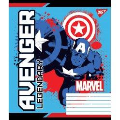 Зошит А5 12 Кос. YES Avengers. Legends