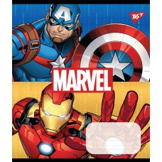 Зошит А5 12 Кос. без д/л YES Avengers. Double Power