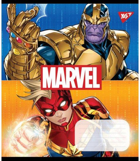 А5/12 кос. без д/л YES Avengers. Double power, зошит учнів.