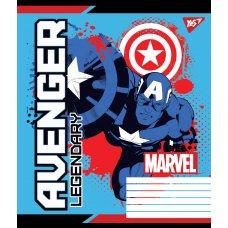 Зошит А5 12 Кос. без д/л YES Avengers. Legends