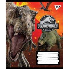 Тетрадь А5 18 Лин. YES Jurassic World. Genetic Failure