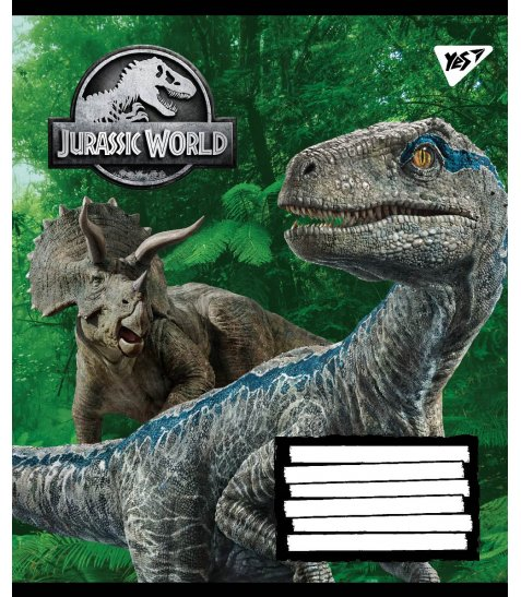 А5/36 кл. YES Jurassic World. Genetic failure, зошит дя записів