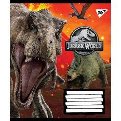 А5/60 лін. YES Jurassic World. Genetic failure, зошит дя записів