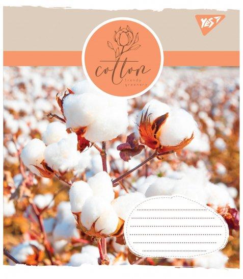 Зошит А5 36 Кл. YES Cotton - фото 2 з 5