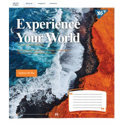 Зошит А5 48 Кл. YES Experience Your World