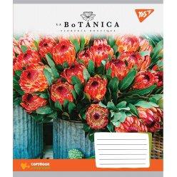 А5/48 кл. YES La botanica, зошит дя записів