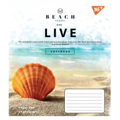 А5/48 лін. YES Beach travel, зошит дя записів