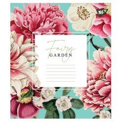 А5/48 лін. YES Fairy garden, зошит дя записів