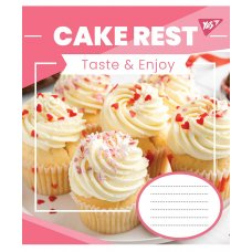 Зошит А5 60 Лін. YES Cake Rest