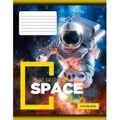 А5/12 кл. YES Space, тетрадь учен.