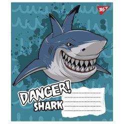 А5/12 кос. YES Danger!, тетрадь учен.