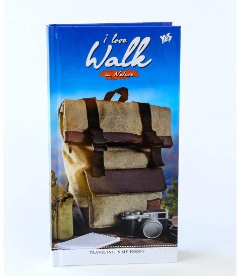 "Блокнот 200 * 100/96 7БЦ, глянець ""I Love Walk"" YES"