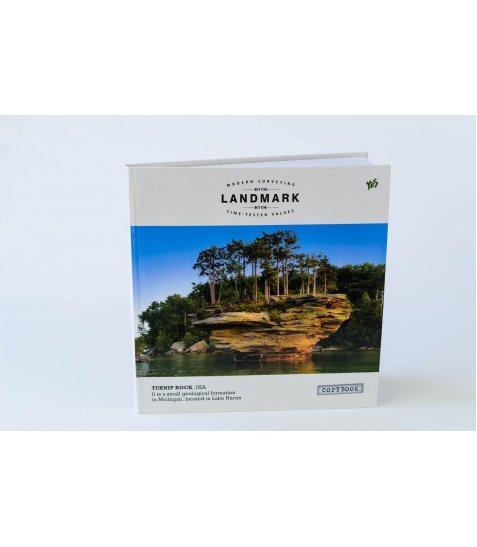 """Блокнот 200 * 200/96 інтег., глянець """"Landmark"""" YES"""