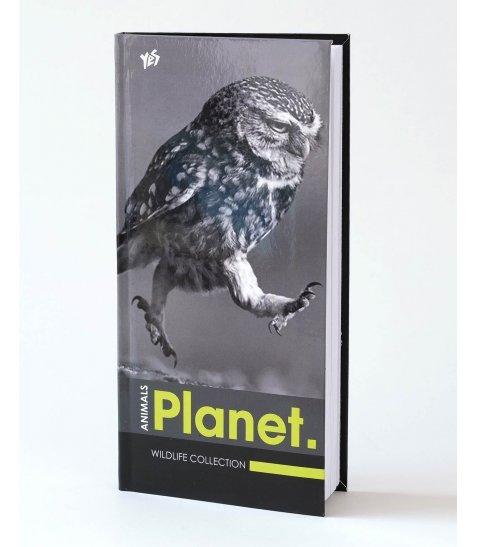 """Блокнот 200 * 100/96 інтег., глянець """"Owl"""" YES"""