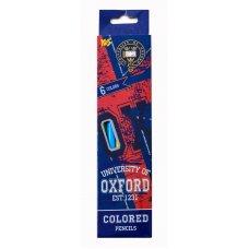 "Colored pencils 6 colors ""Oxford"""