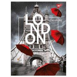 """Зошит для записів А4/96 кл. YES """"LONDON"""""""