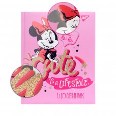 """Щоденник шкільний YES  жорсткий """"Minnie Mouse"""""""