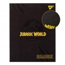 """Щоденник шкільний YES інтегральний """"Jurassic world"""" мат. ламінация, конгрев, Pantone Yello"""