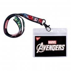 """Бейдж YES на стрічці """"Marvel.Avengers"""", принт"""