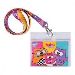 """Бейдж YES на стрічці """"Bubu"""", принт"""