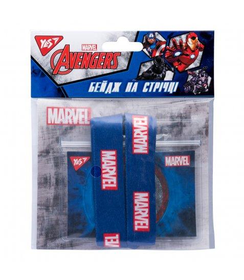 """Бейдж YES на стрічці """"Marvel"""", принт"""