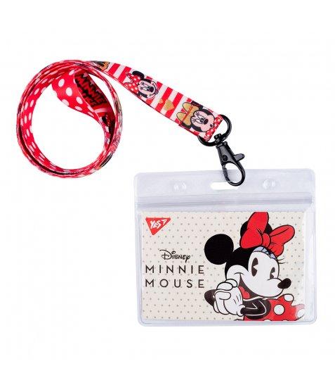 """Бейдж YES на стрічці """"Minnie Mouse"""", принт"""