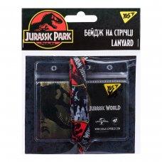 "Бейдж YES на стрічці ""Jurassic World"", прінт"