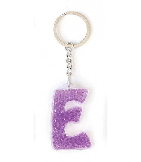 "Брелок YES буква  ""Е"", фиолетовая"